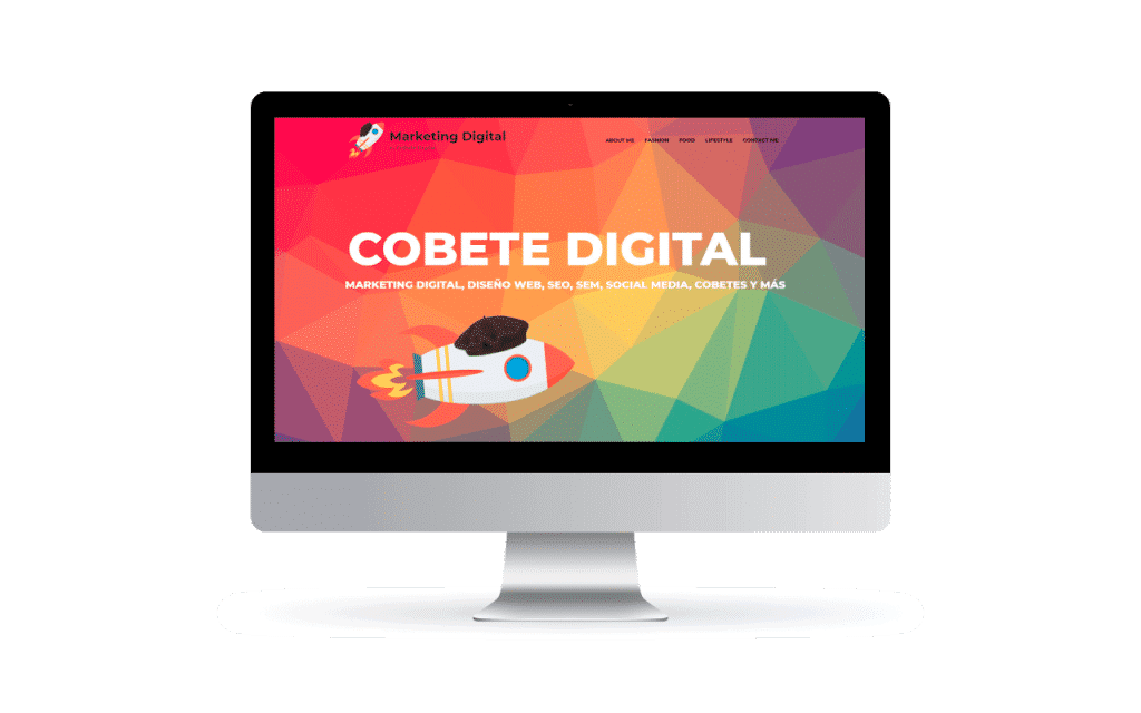 cobete digital diseño web y marketing digital